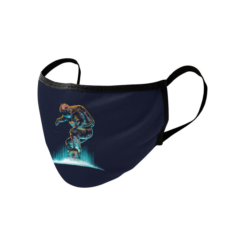 Space Grind Accessories Face Mask by Threadless Artist Shop