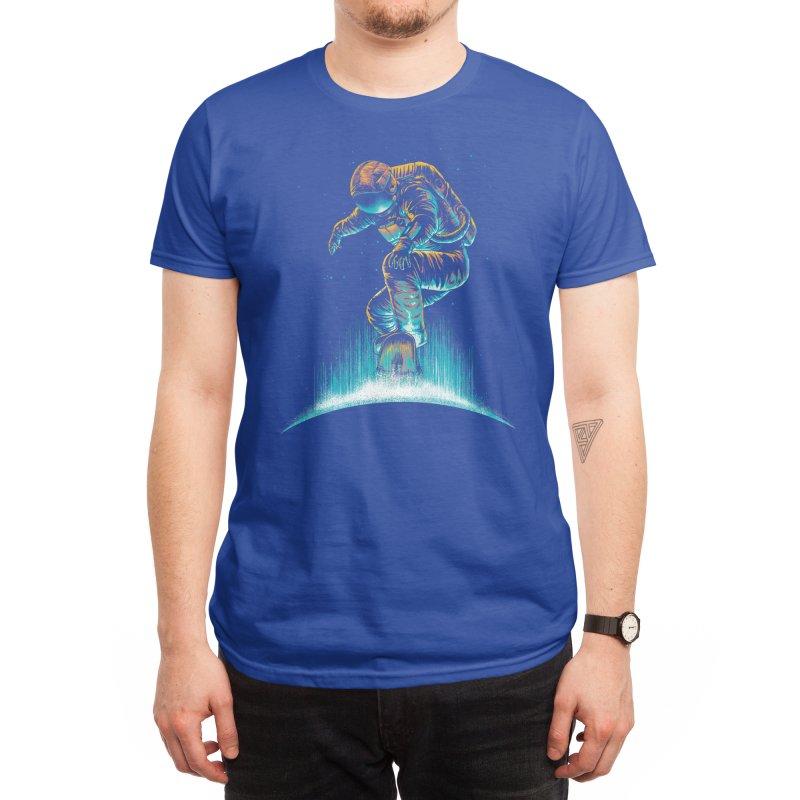 Space Grind Men's T-Shirt by Threadless Artist Shop
