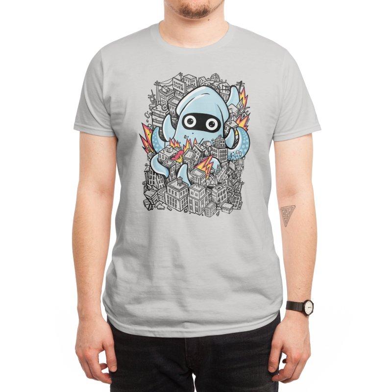 Tentacle Attack Men's T-Shirt by Threadless Artist Shop