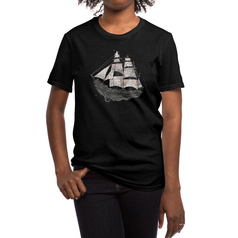 Wherever the Wind Blows Women's T-Shirt by Threadless Artist Shop