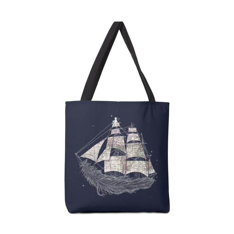 Wherever the Wind Blows Accessories Bag by Threadless Artist Shop