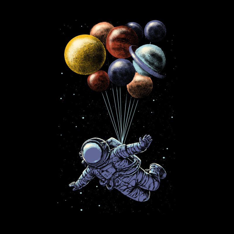 Space Travel Men's Zip-Up Hoody by Threadless Artist Shop