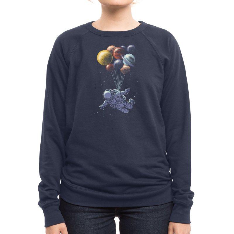 Space Travel Women's Sweatshirt by Threadless Artist Shop