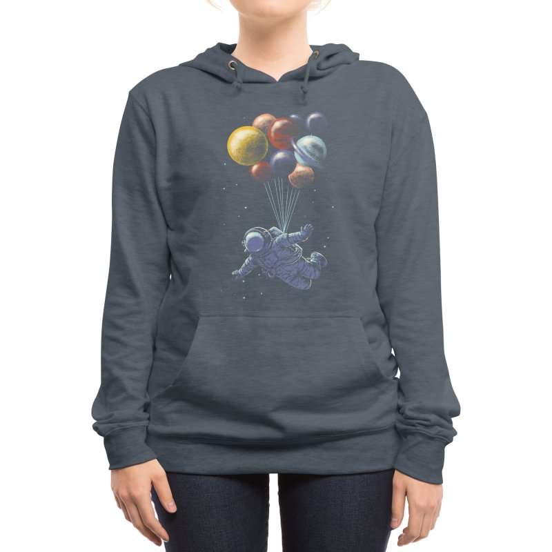 Space Travel Women's Pullover Hoody by Threadless Artist Shop