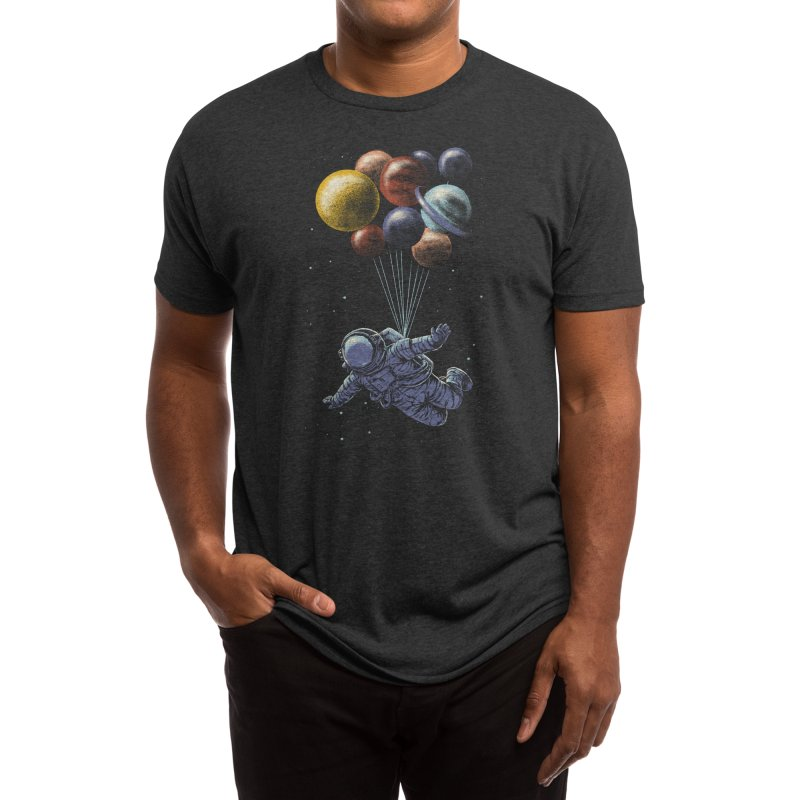 Space Travel Men's T-Shirt by Threadless Artist Shop