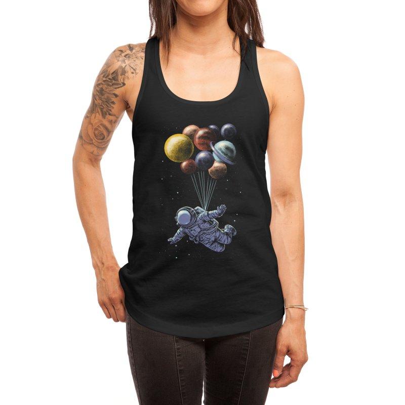 Space Travel Women's Tank by Threadless Artist Shop