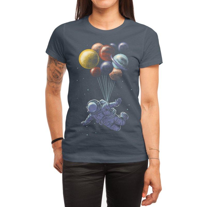 Space Travel Women's T-Shirt by Threadless Artist Shop