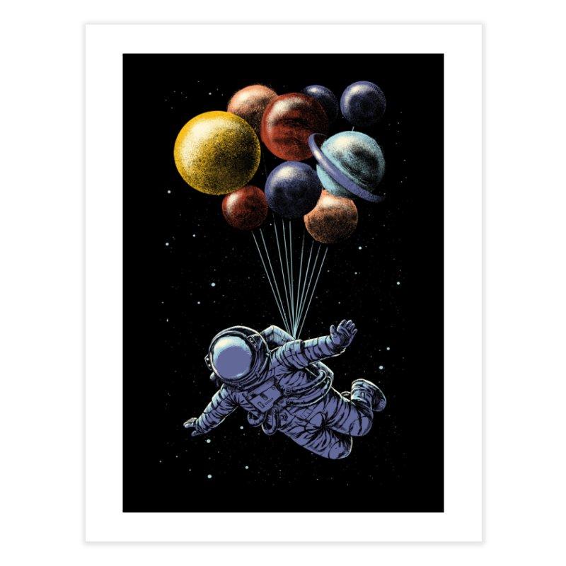 Space Travel Home Fine Art Print by Threadless Artist Shop
