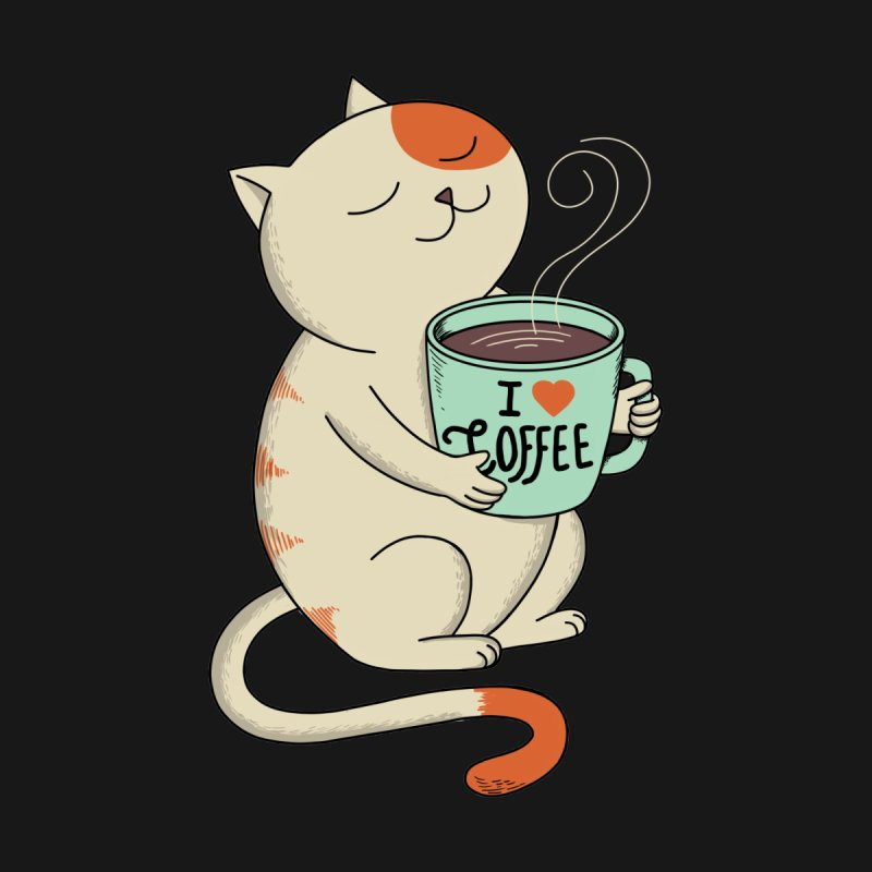 Cat - Coffee Man Men's T-Shirt by Threadless Artist Shop