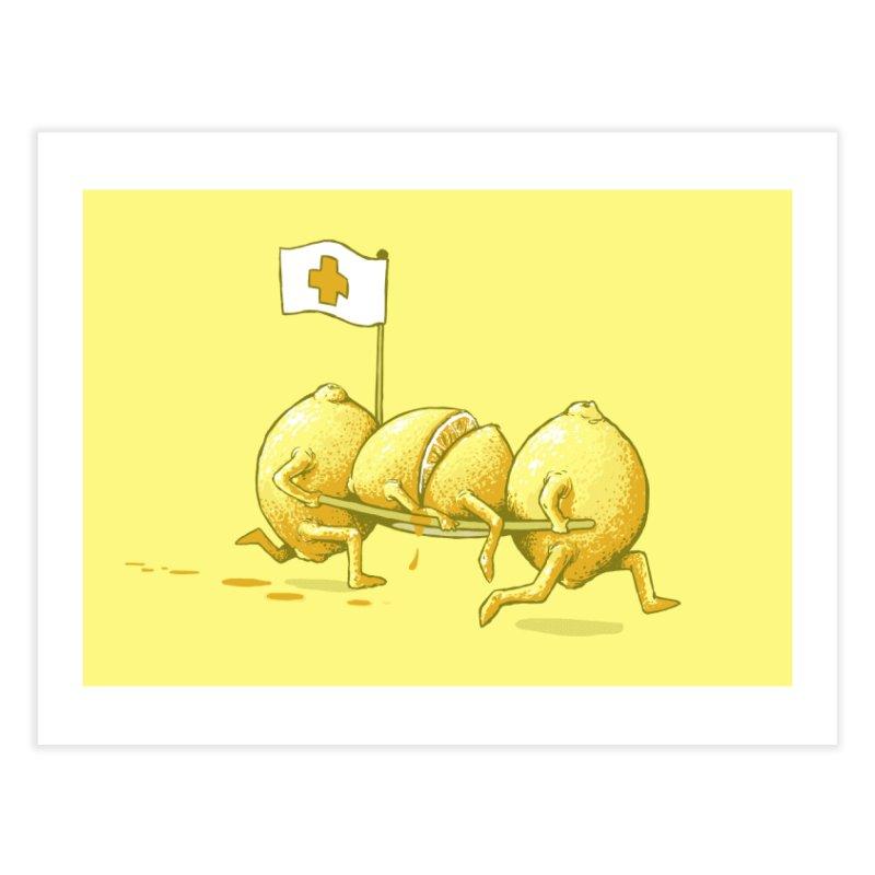 Lemon Aid Home Fine Art Print by Threadless Artist Shop