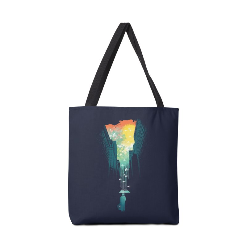 I Want My Blue Sky Accessories Bag by Threadless Artist Shop