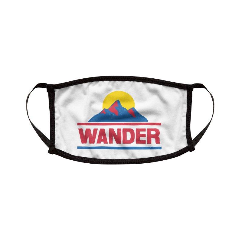 Wander - ross zeitz Accessories Face Mask by Threadless Artist Shop