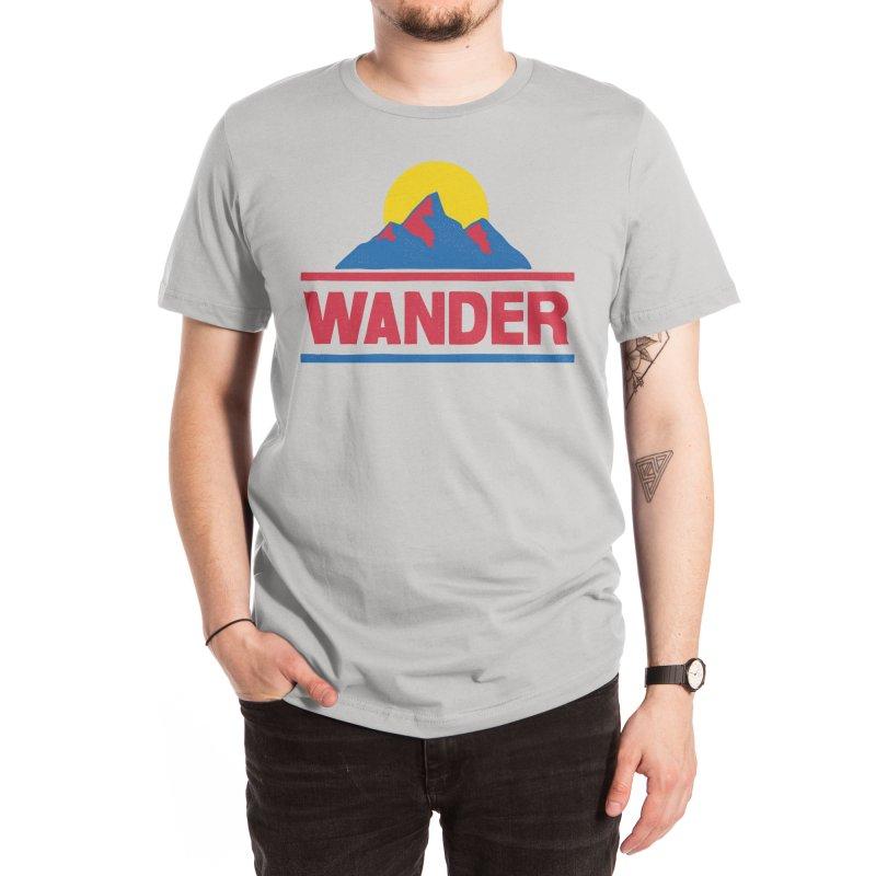 Wander - ross zeitz Men's T-Shirt by Threadless Artist Shop