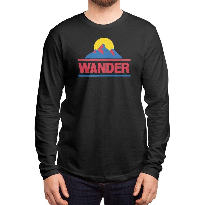 Wander - ross zeitz Men's Longsleeve T-Shirt by Threadless Artist Shop