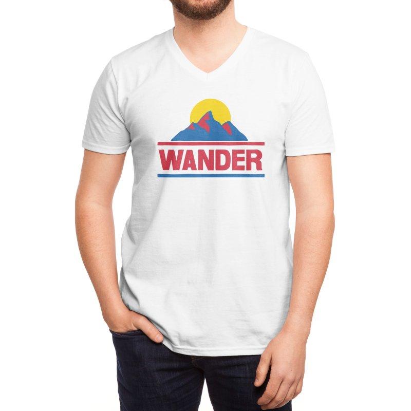 Wander - ross zeitz Men's V-Neck by Threadless Artist Shop