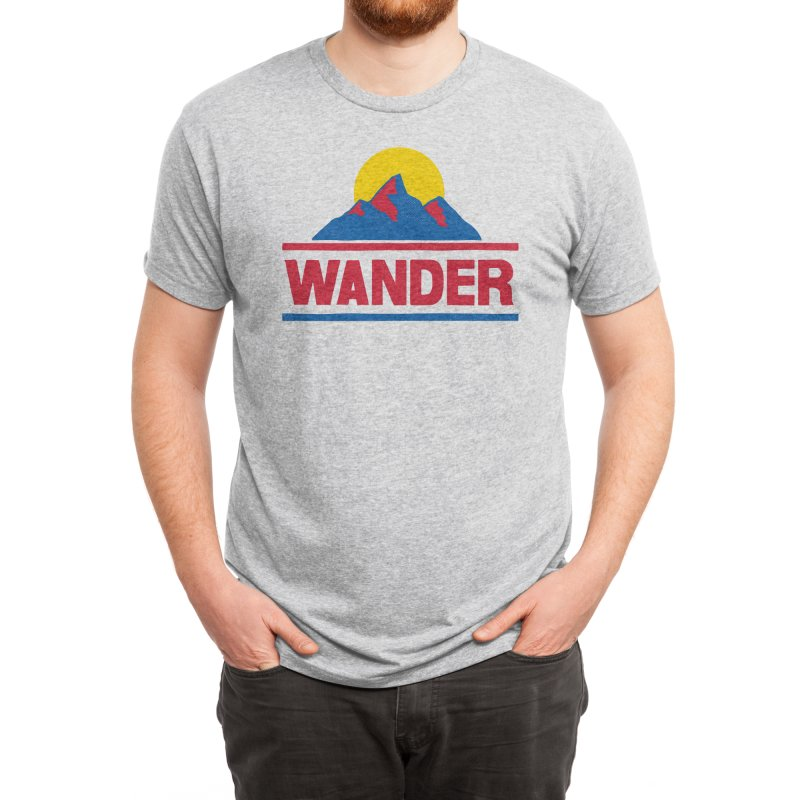 Wander - ross zeitz Men's T-Shirt by Threadless Artist Shop