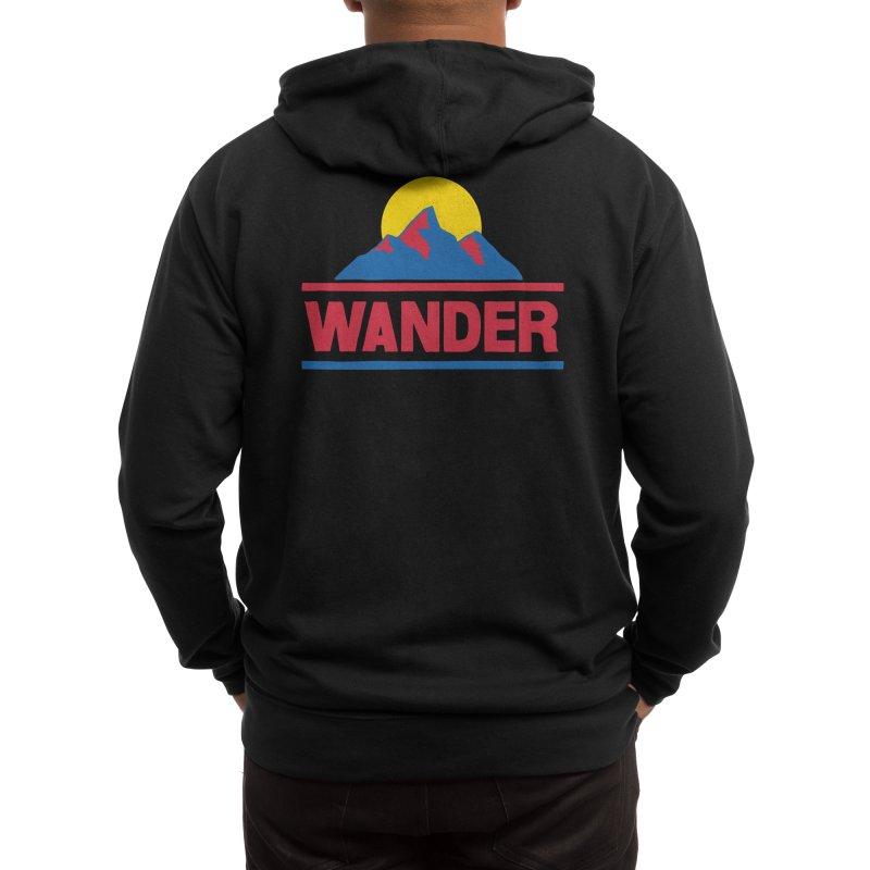 Wander - ross zeitz Men's Zip-Up Hoody by Threadless Artist Shop