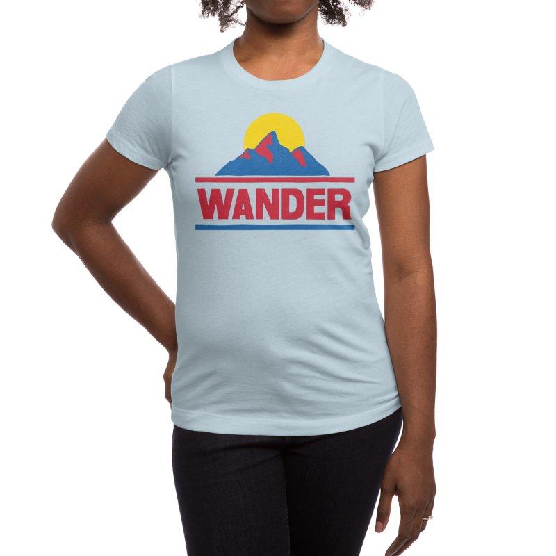 Wander - ross zeitz Women's T-Shirt by Threadless Artist Shop