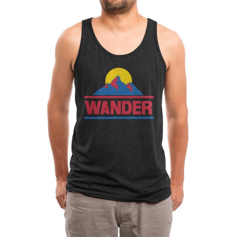 Wander - ross zeitz Men's Tank by Threadless Artist Shop
