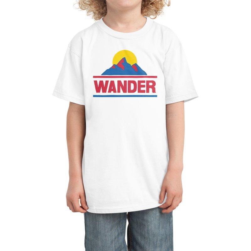 Wander - ross zeitz Kids T-Shirt by Threadless Artist Shop