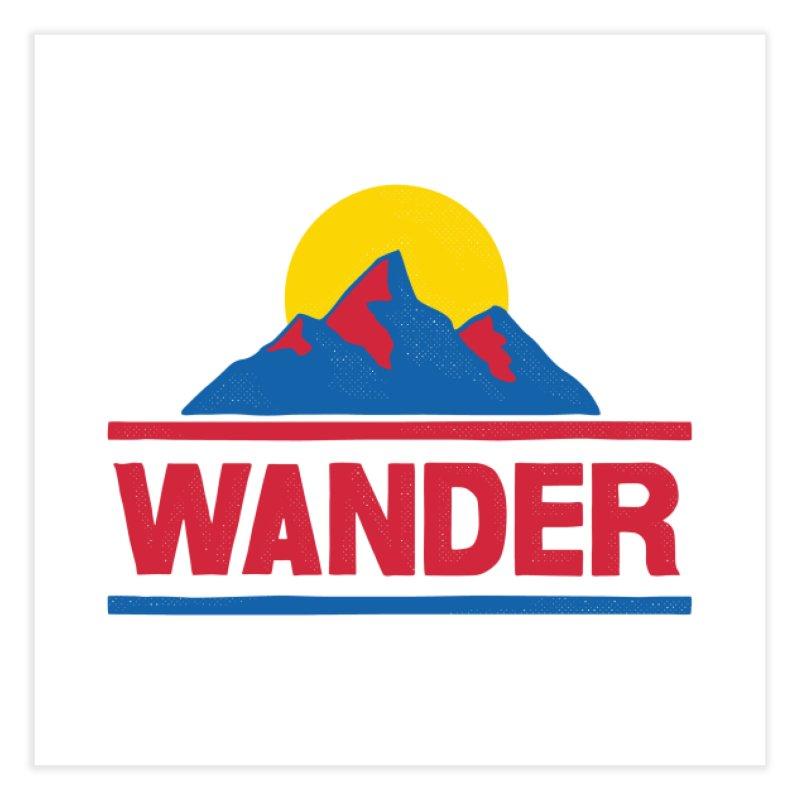 Wander - ross zeitz Home Fine Art Print by Threadless Artist Shop