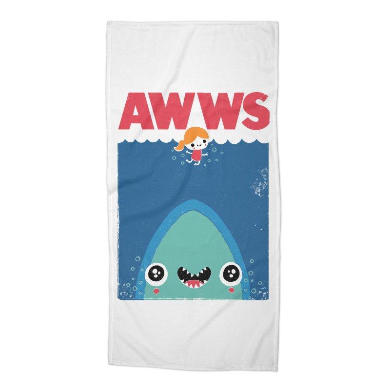 AWWS Accessories Beach Towel by Threadless Artist Shop