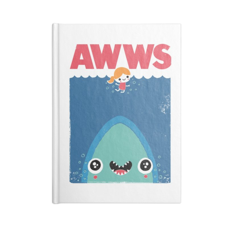AWWS Accessories Notebook by Threadless Artist Shop
