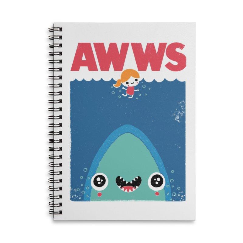 AWWS Accessories Notebook by Threadless Artist Shop