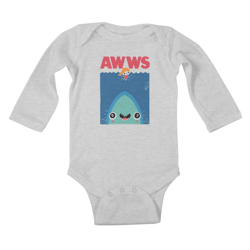 AWWS Kids Baby Longsleeve Bodysuit by Threadless Artist Shop
