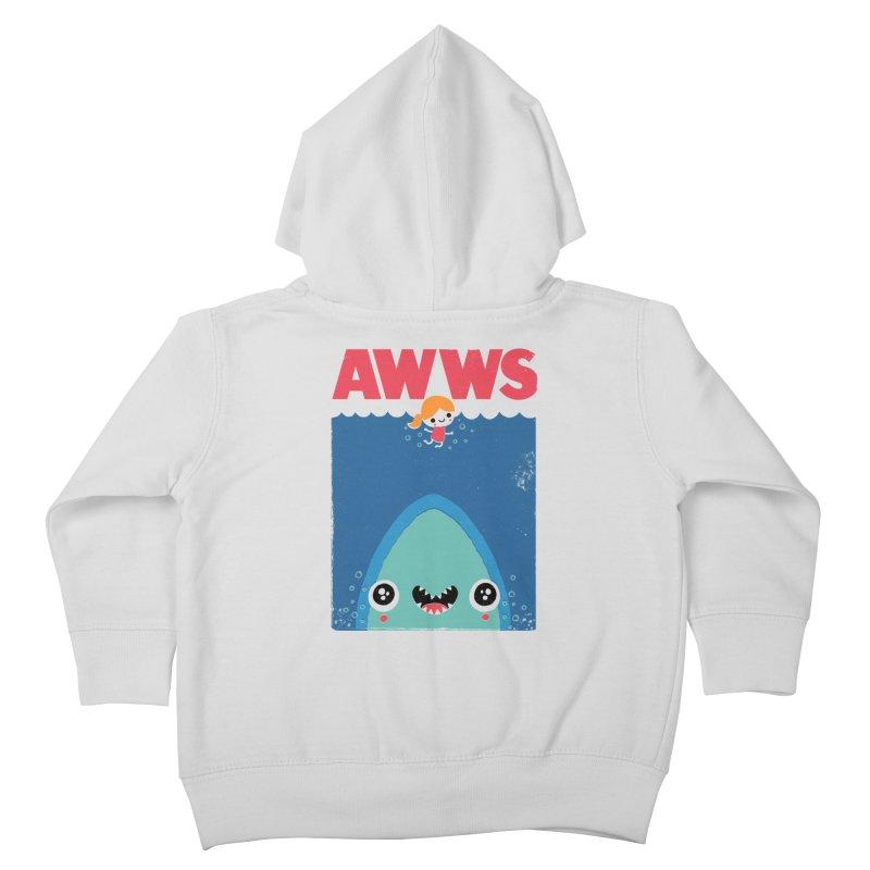 AWWS Kids Toddler Zip-Up Hoody by Threadless Artist Shop