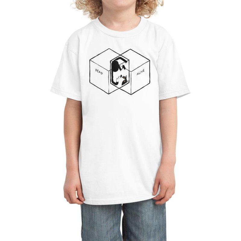 Schrodinger's Venn Diagram Kids T-Shirt by Threadless Artist Shop