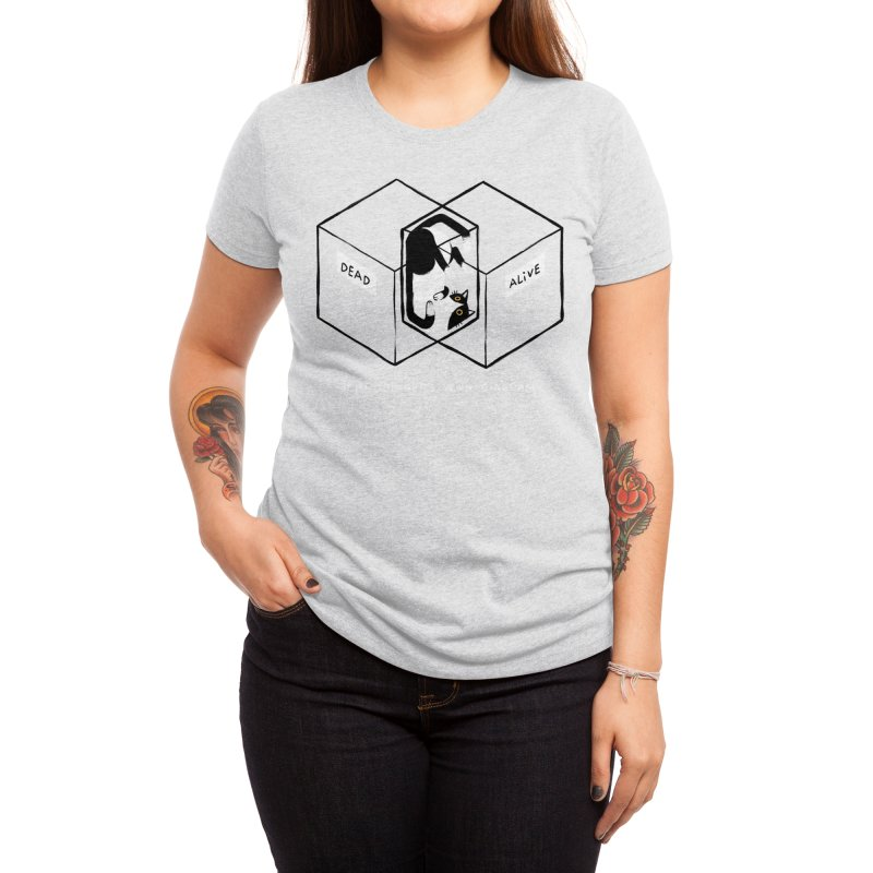 Schrodinger's Venn Diagram Women's T-Shirt by Threadless Artist Shop