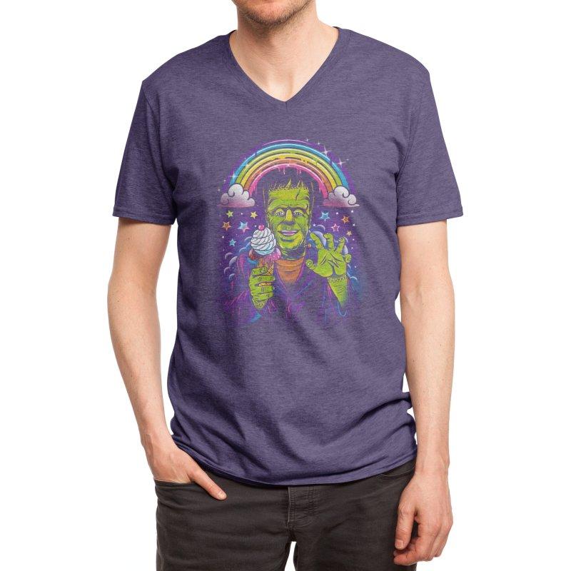 Lisa Frankenstein Men's V-Neck by Threadless Artist Shop