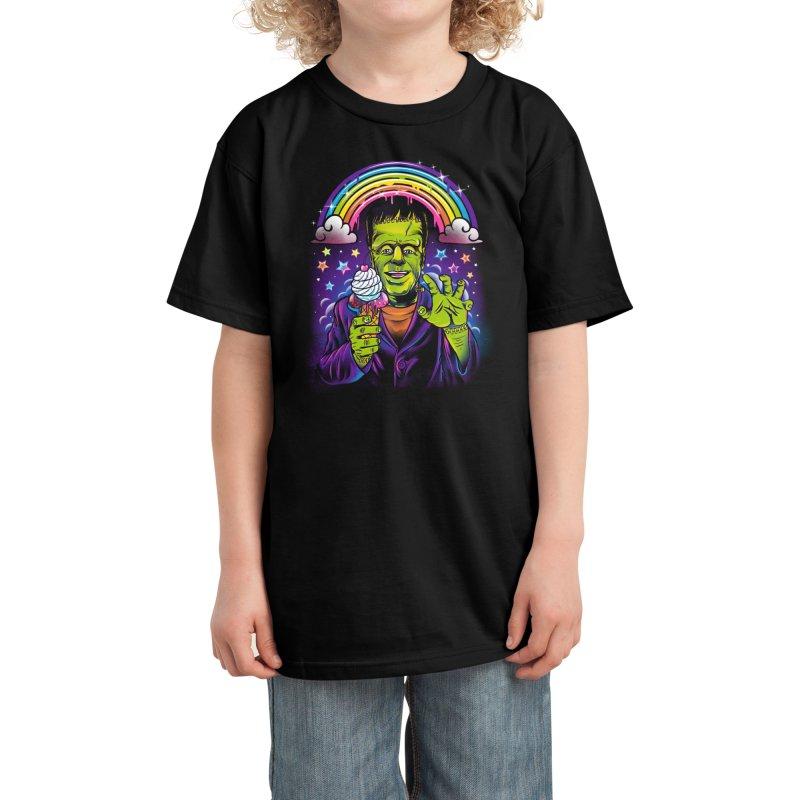 Lisa Frankenstein Kids T-Shirt by Threadless Artist Shop