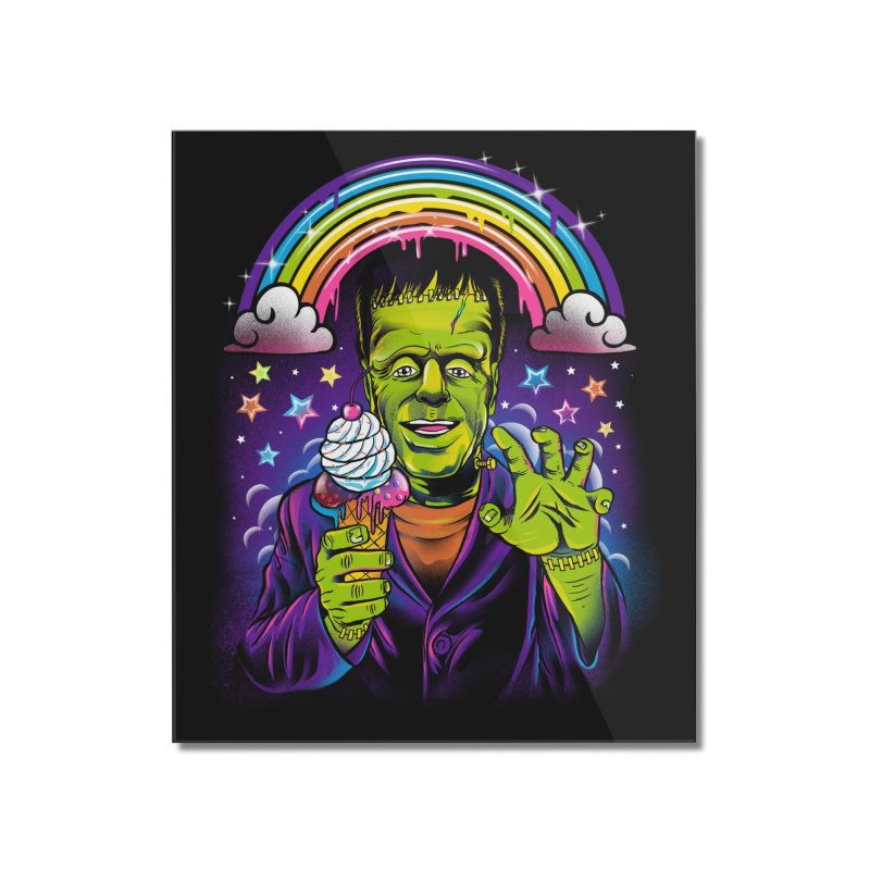 Lisa Frankenstein Home Mounted Acrylic Print by Threadless Artist Shop