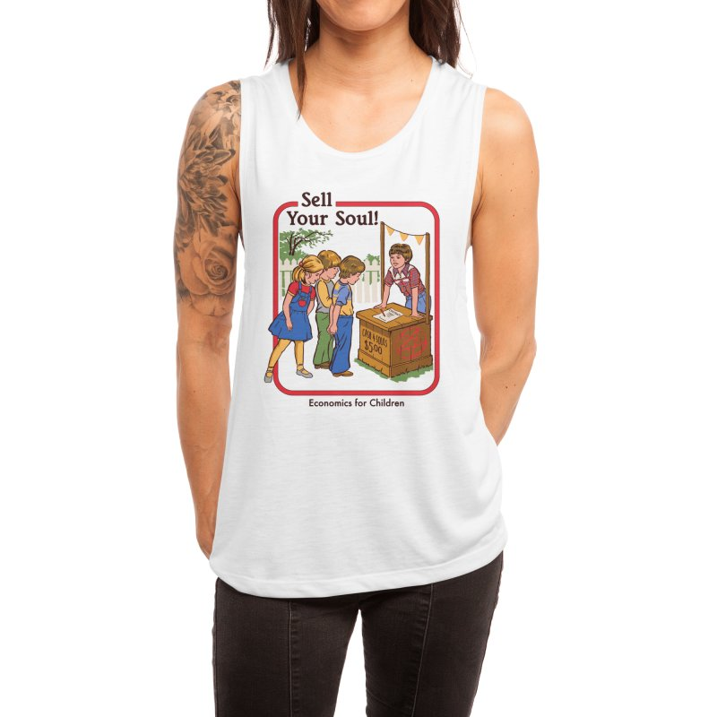Sell Your Soul Women's Tank by Threadless Artist Shop