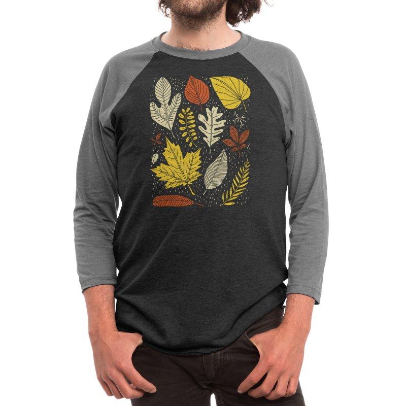 Simply Leaves Men's Longsleeve T-Shirt by Threadless Artist Shop