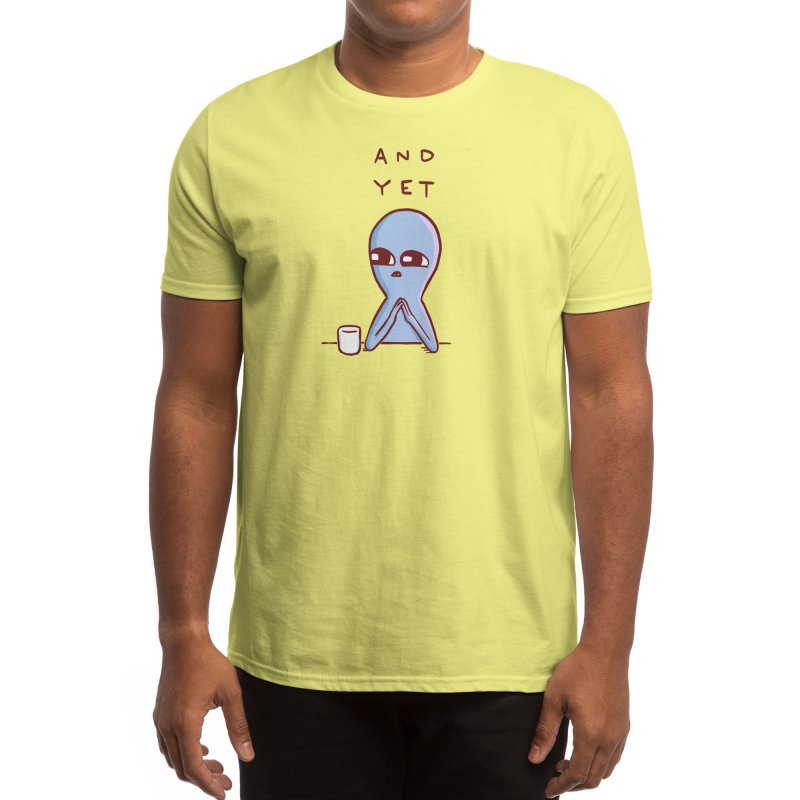 Strange Planet: And Yet Men's T-Shirt by Threadless Artist Shop