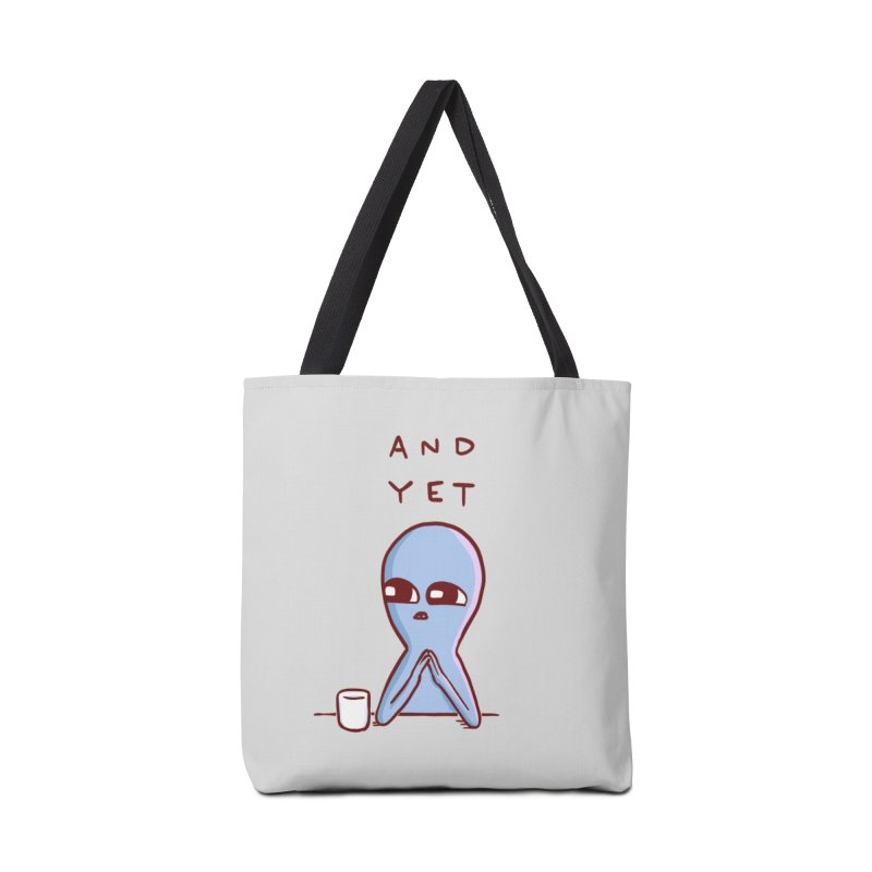 Strange Planet: And Yet Accessories Bag by Threadless Artist Shop