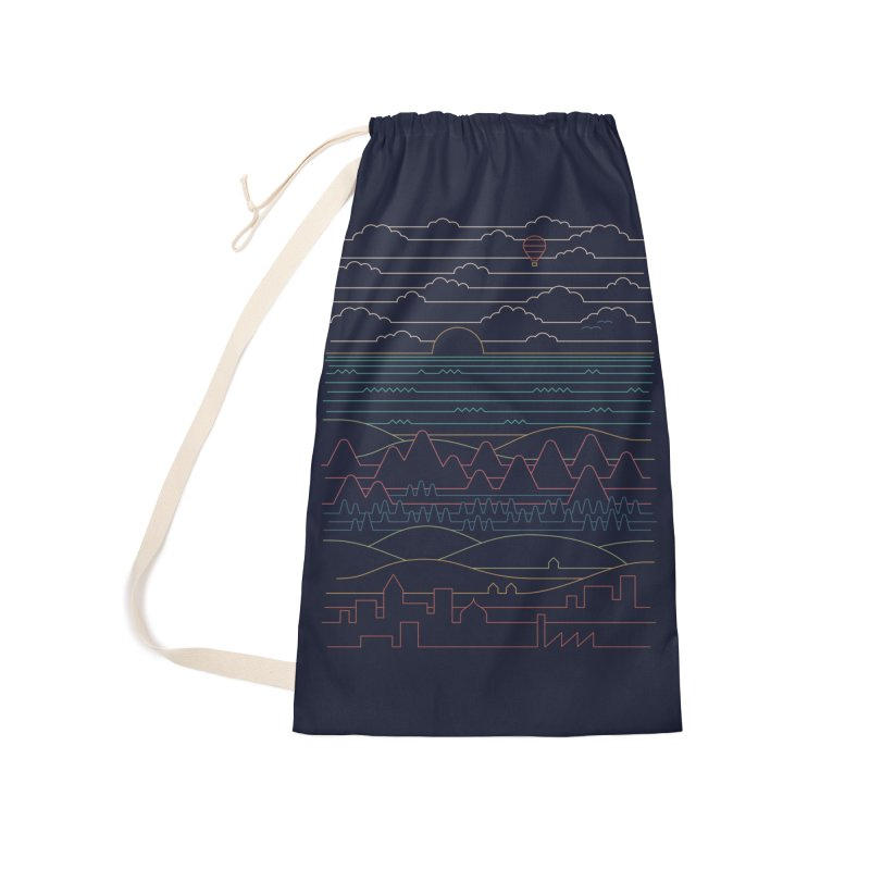 Linear Landscape Accessories Bag by Threadless Artist Shop