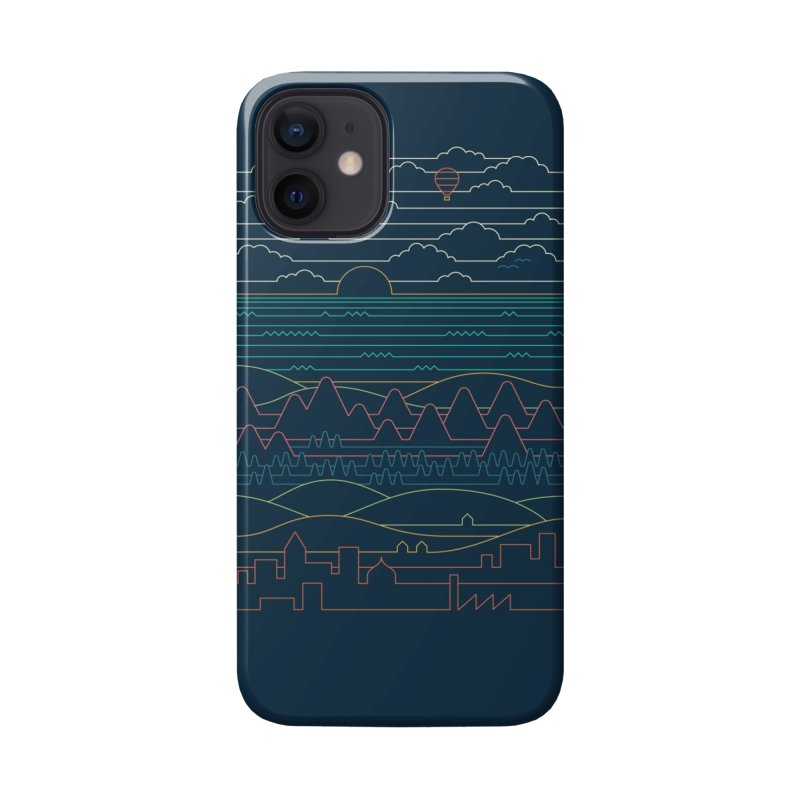 Linear Landscape Accessories Phone Case by Threadless Artist Shop
