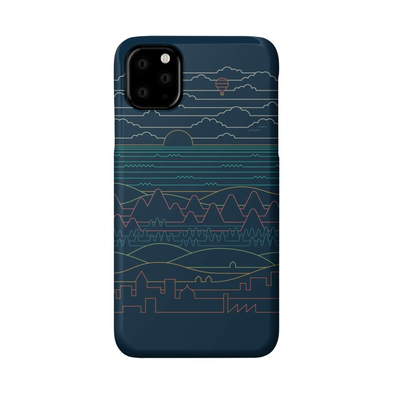 Linear Landscape Accessories Phone Case by Threadless Artist Shop