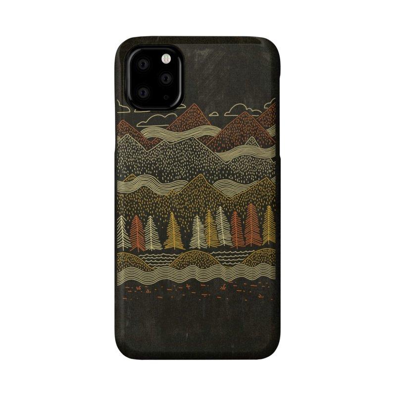 Misty Mountains Accessories Phone Case by Threadless Artist Shop