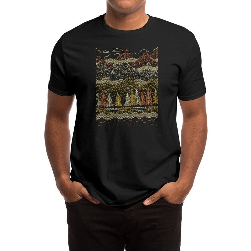 Misty Mountains Men's T-Shirt by Threadless Artist Shop