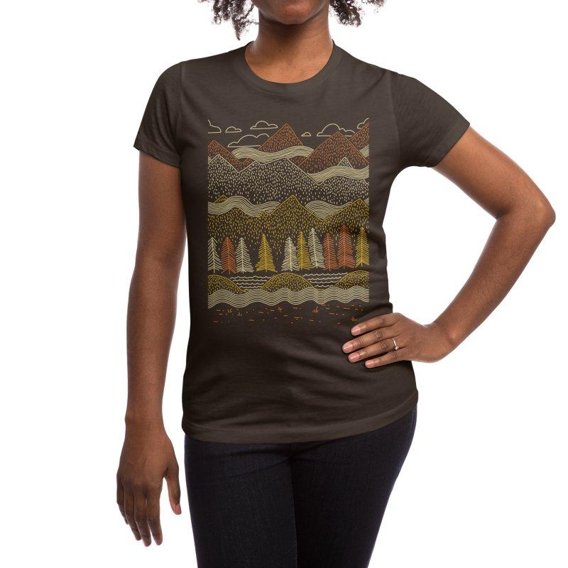 Misty Mountains Women's T-Shirt by Threadless Artist Shop