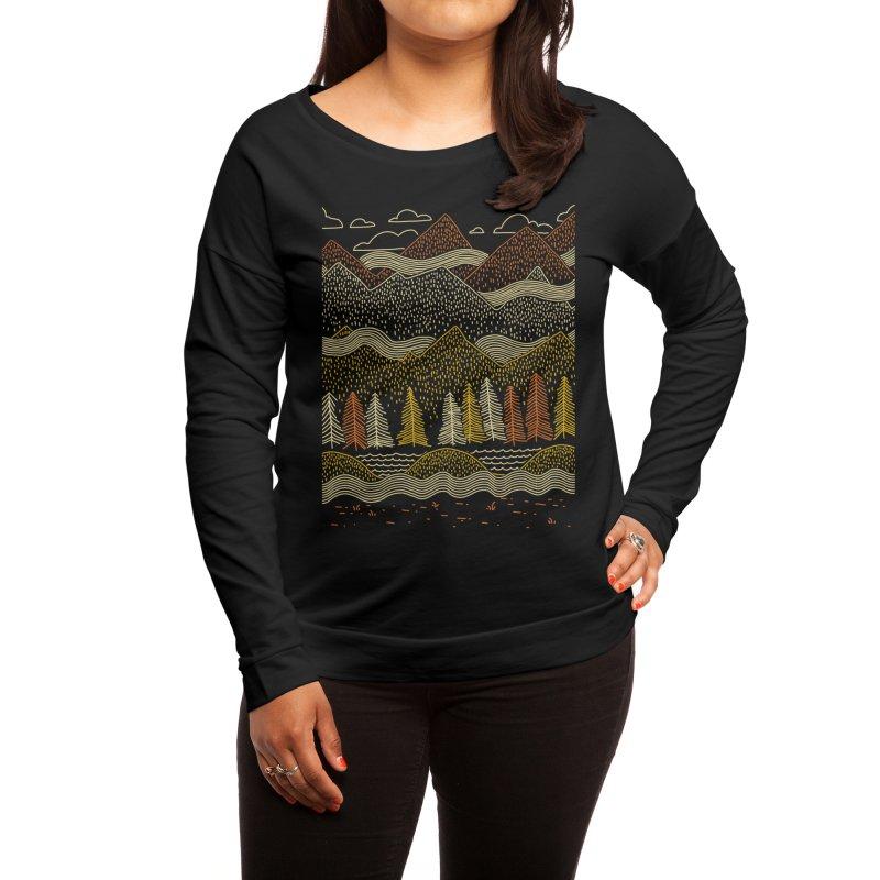 Misty Mountains Women's Longsleeve T-Shirt by Threadless Artist Shop