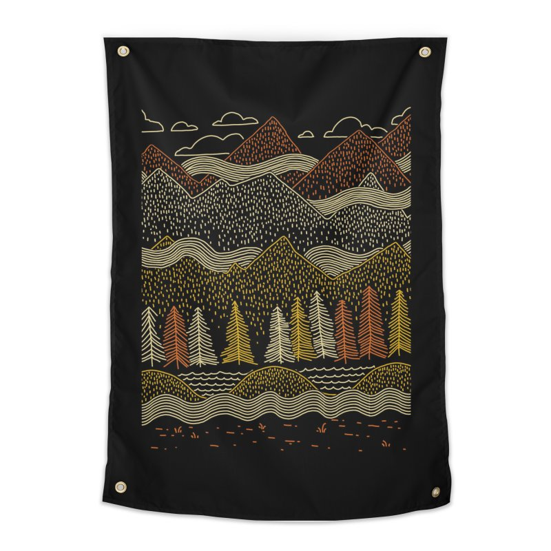 Misty Mountains Home Tapestry by Threadless Artist Shop