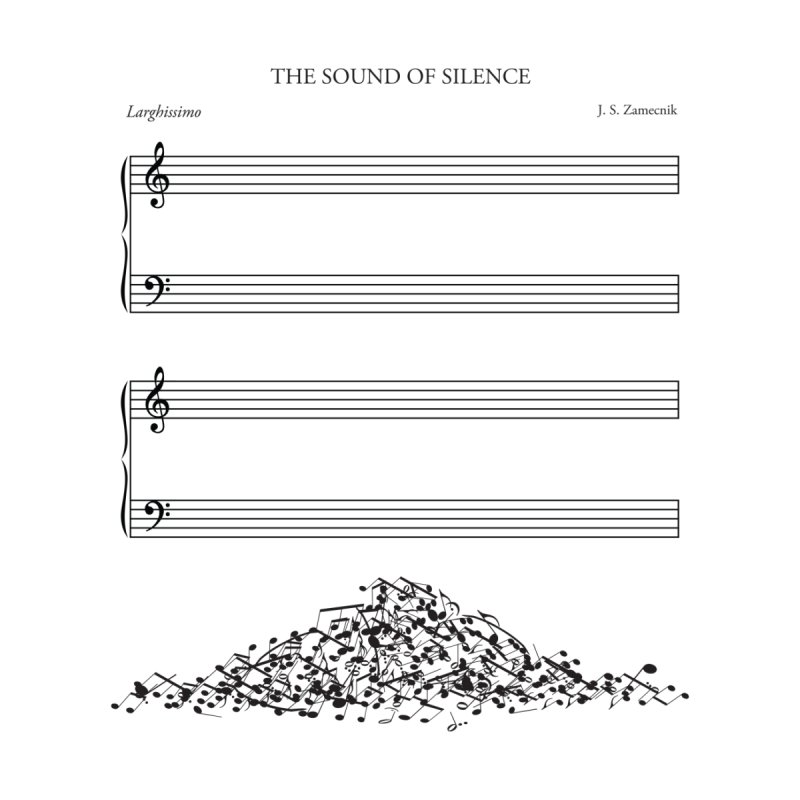 The Sound of Silence Men's T-Shirt by Threadless Artist Shop
