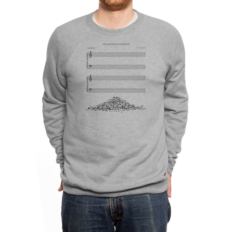 The Sound of Silence Men's Sweatshirt by Threadless Artist Shop