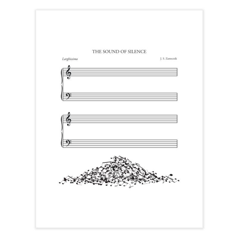 The Sound of Silence Home Fine Art Print by Threadless Artist Shop